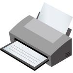 ブラックインクのみで印刷できるプリンタ